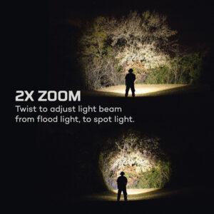 Φακός 12K 12.000 Lumen USB & Power Bank | Nebo
