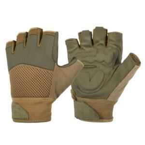 Επιχειρησιακά Γάντια Κομμένα Δάχτυλα MK2 Olive-Coyote | Helikon