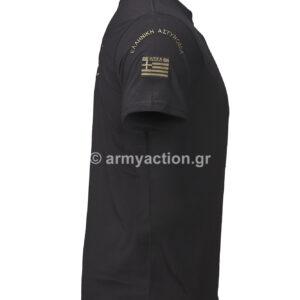 Μπλούζα Αστυνομίας Police Black ΧΟ | Greek Forces
