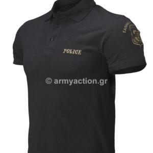 Μπλούζα Polo Πικέ Police ΧΟ | Greek Forces