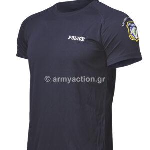 Αντιιδρωτική Μπλούζα Police Μπλε | Greek Forces