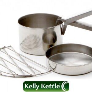 Σετ Μαγειρέματος Stainless Steel Large | Kelly Kettle