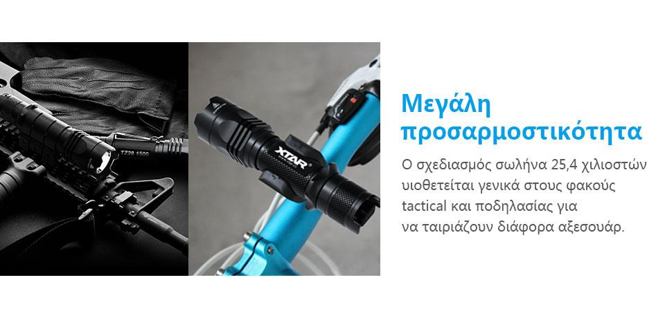 XTAR TZ28 1500lm Full Set Flashlight slider04
