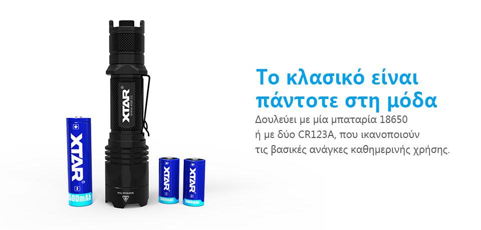 XTAR TZ28 1500lm Full Set Flashlight slider06
